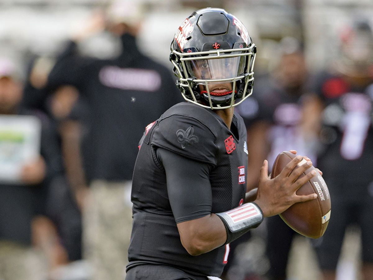 Levi Lewis throws 3 TDs to lead No. 25 Louisiana-Lafayette past South Alabama