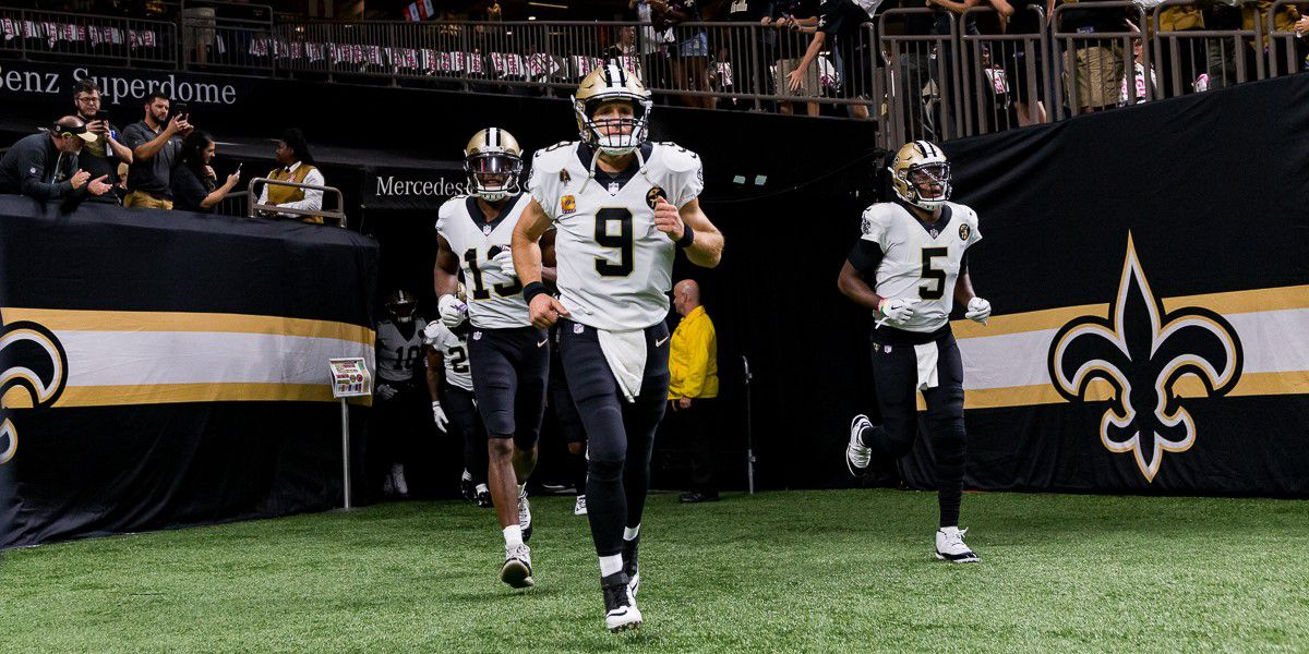 Brees may be out with injury up to 6 weeks according to doctors but fans are still hopeful for his return