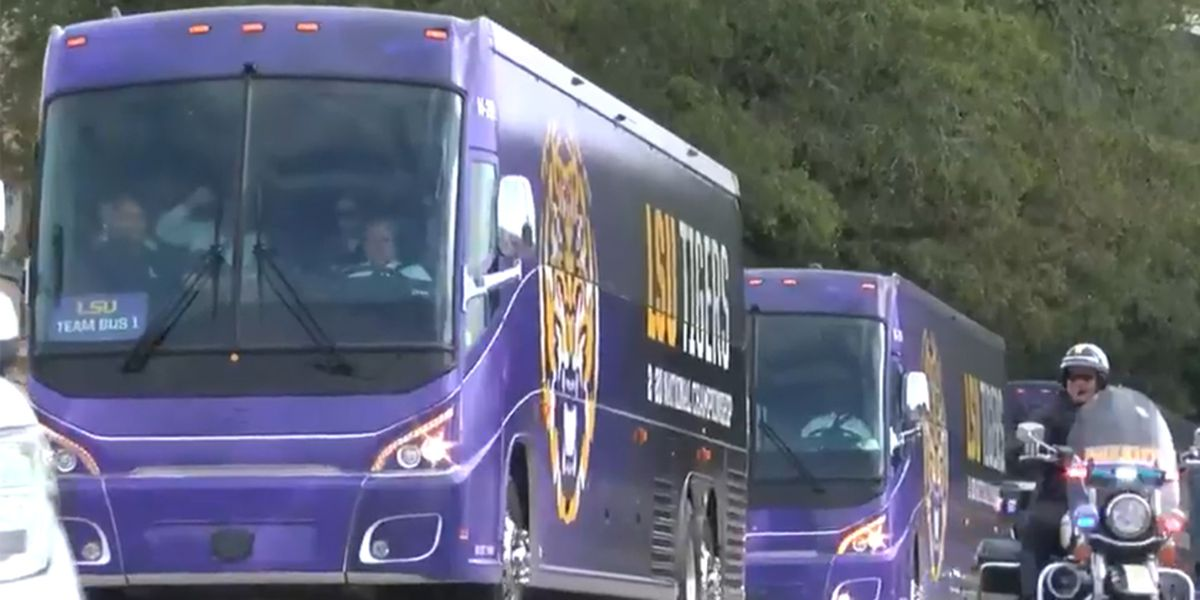 Baton Rouge fans still celebrating LSU's national championship win