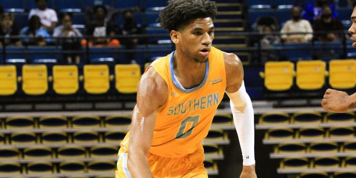 Southern's Terrell Williams named SWAC Freshman of the Year