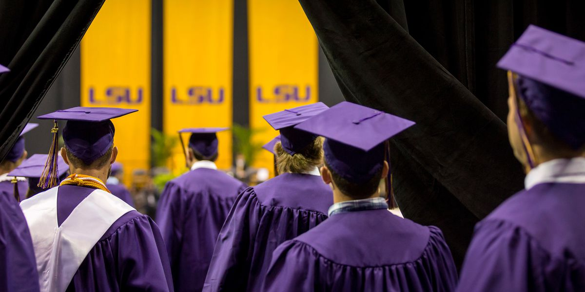 More than 4k diplomas awarded at LSU virtual graduation