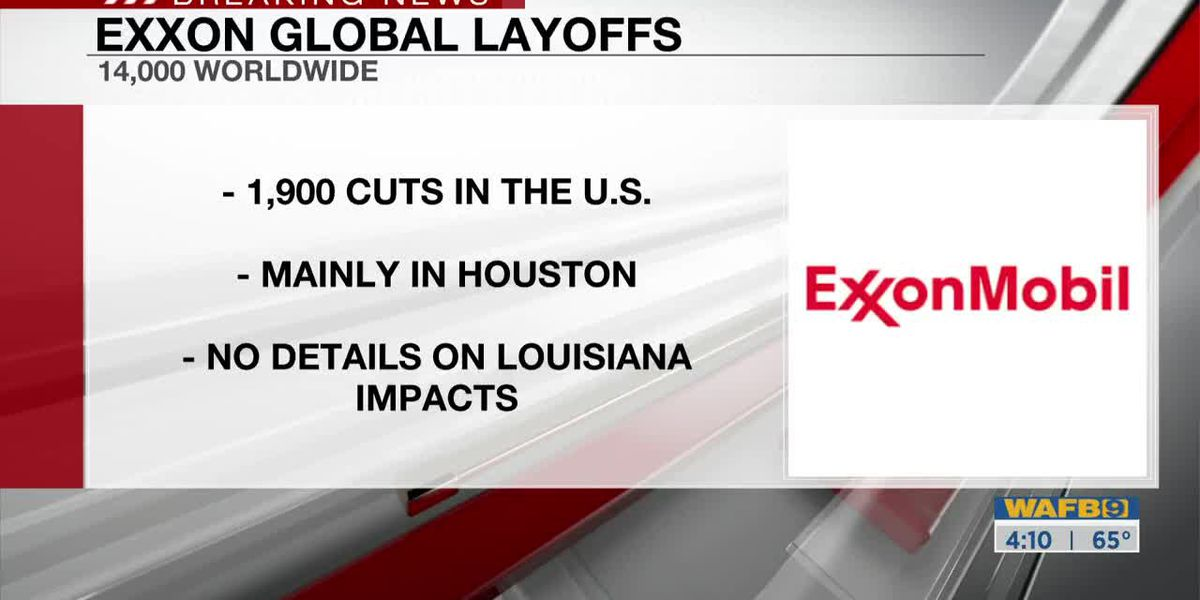 Exxon announces nearly 2,000 layoffs in U.S., mostly in Houston