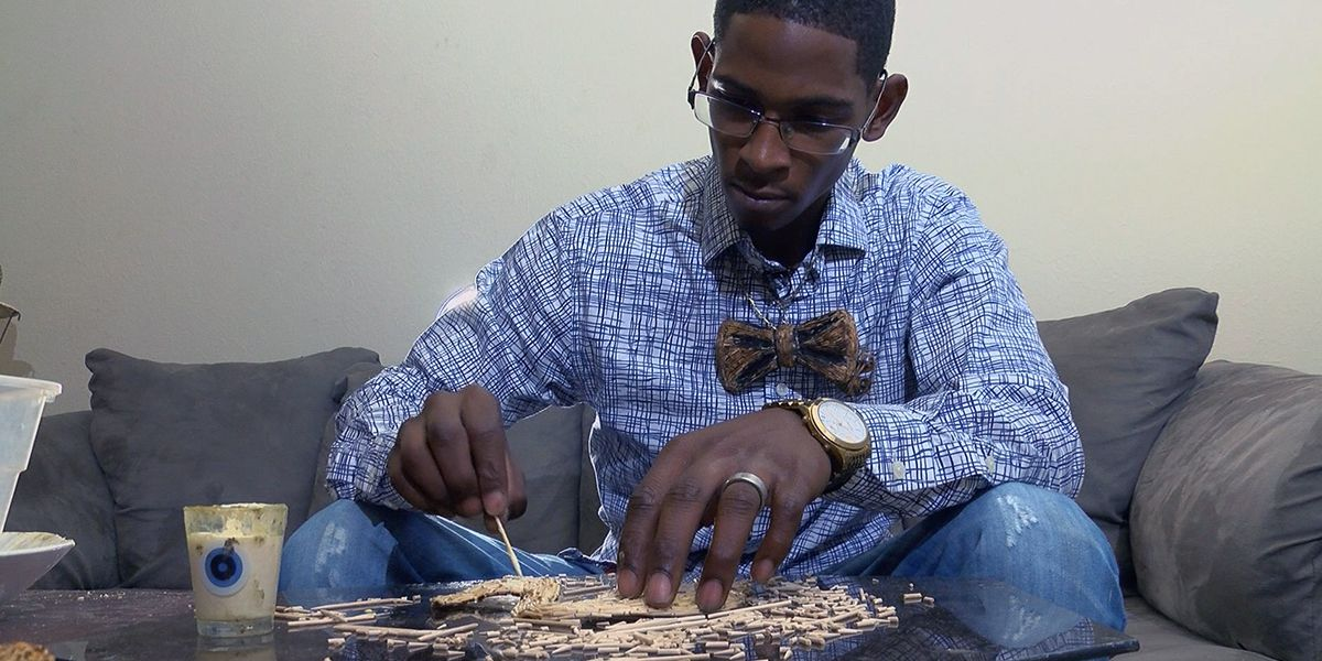 SHOWCASING LOUISIANA: Man creates sculptures out of toothpicks