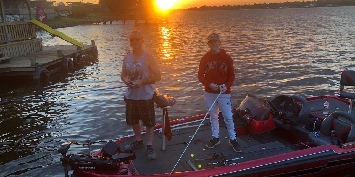 Friday night fishing tournament offers anglers big fish, break from the heat