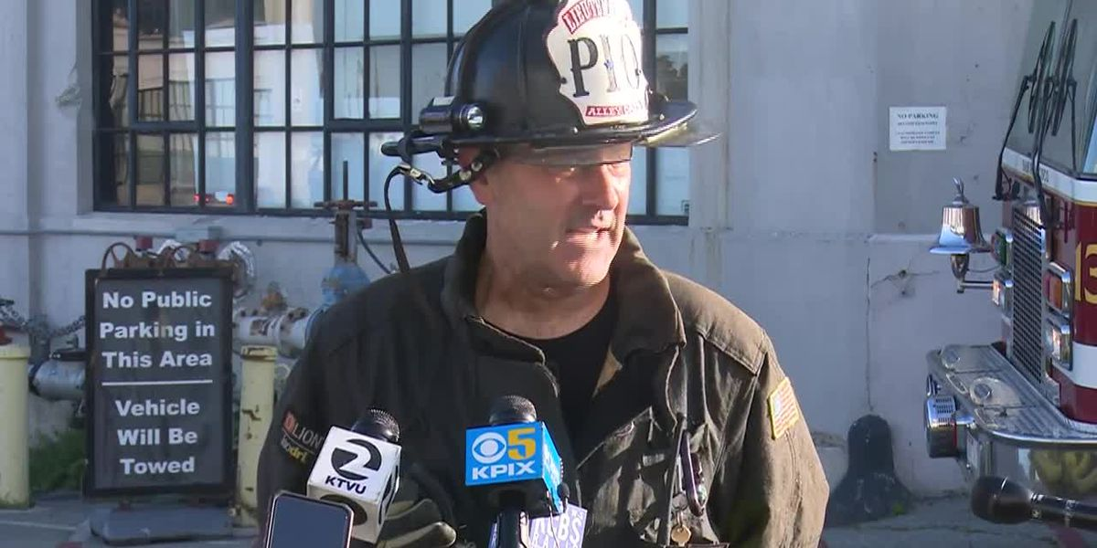 Fire crews save historic ship from Pier 45 fire