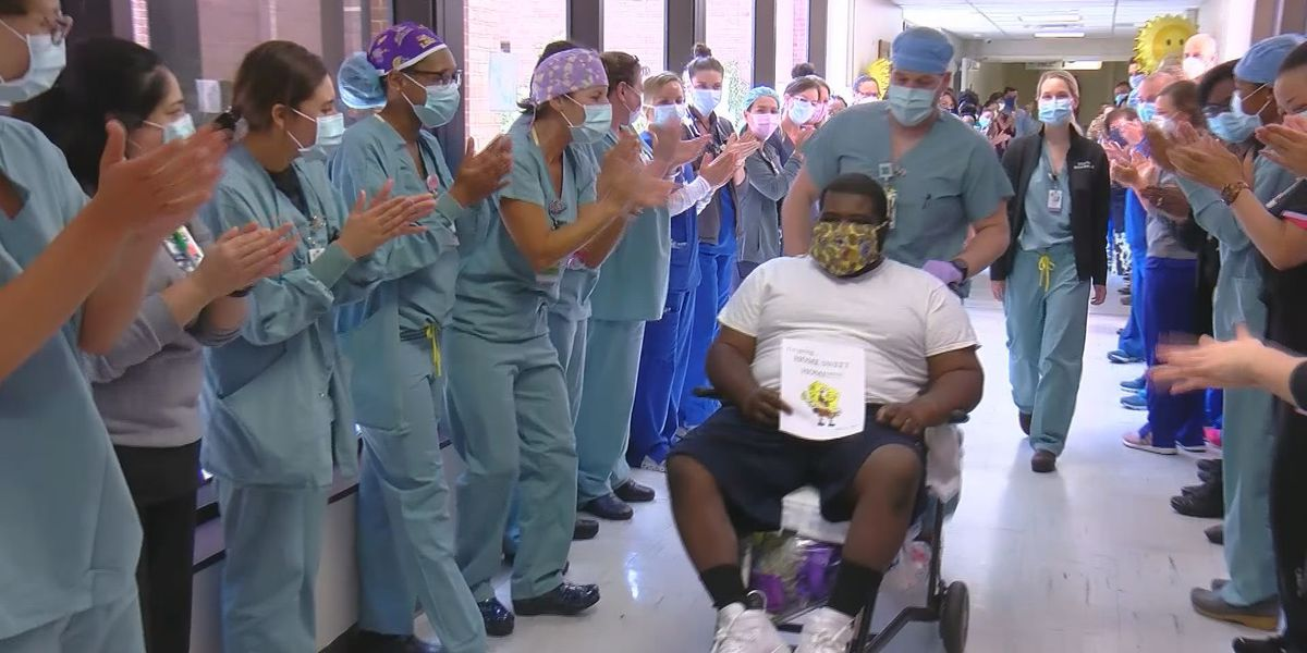 COVID Conqueror: 28-year-old survivor gets epic hospital sendoff