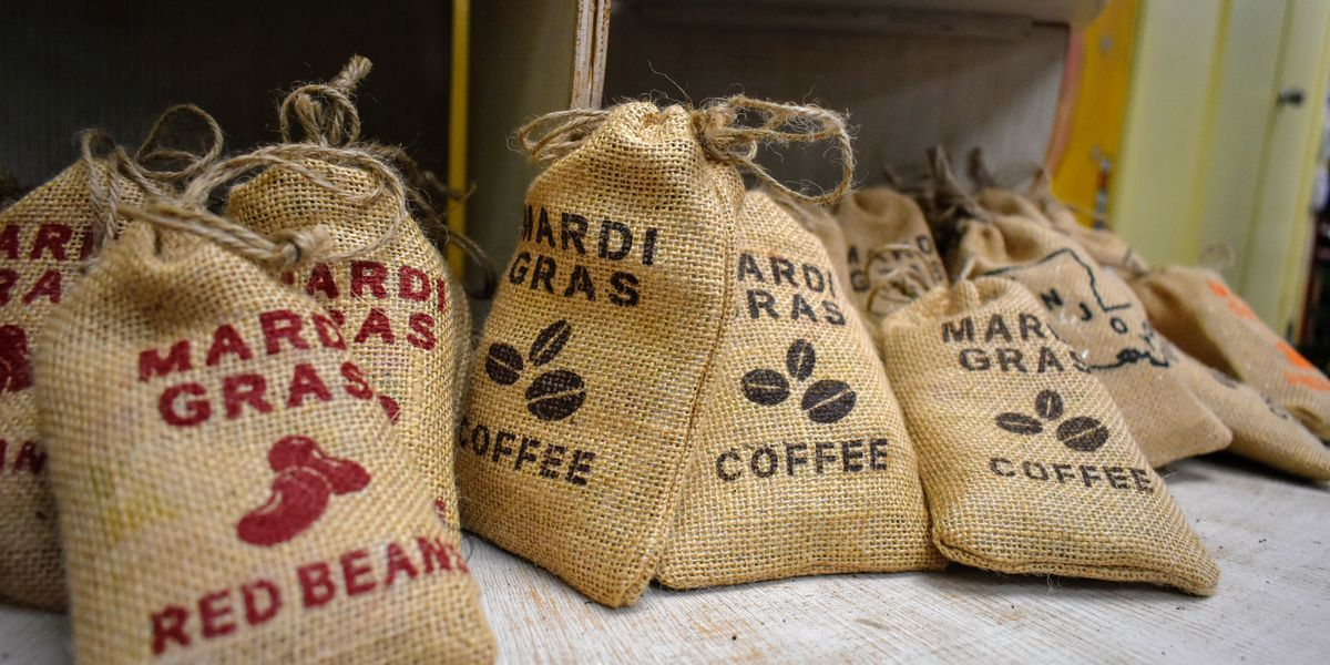 Red beans, ground coffee: Local groups bring consumable Mardi Gras throws to the table