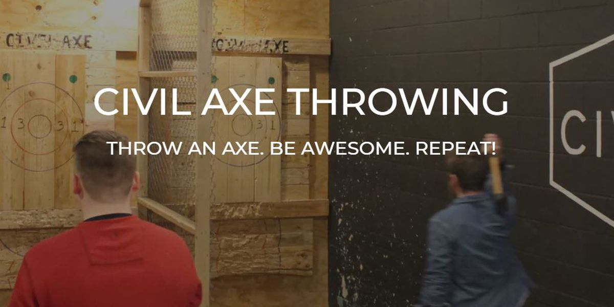 Civil Axe Throwing coming to Mid City in August