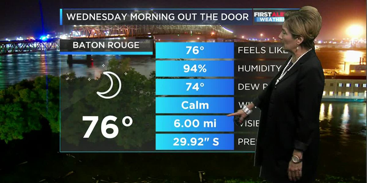 FIRST ALERT MORNING WEATHER: Hot, Muggy