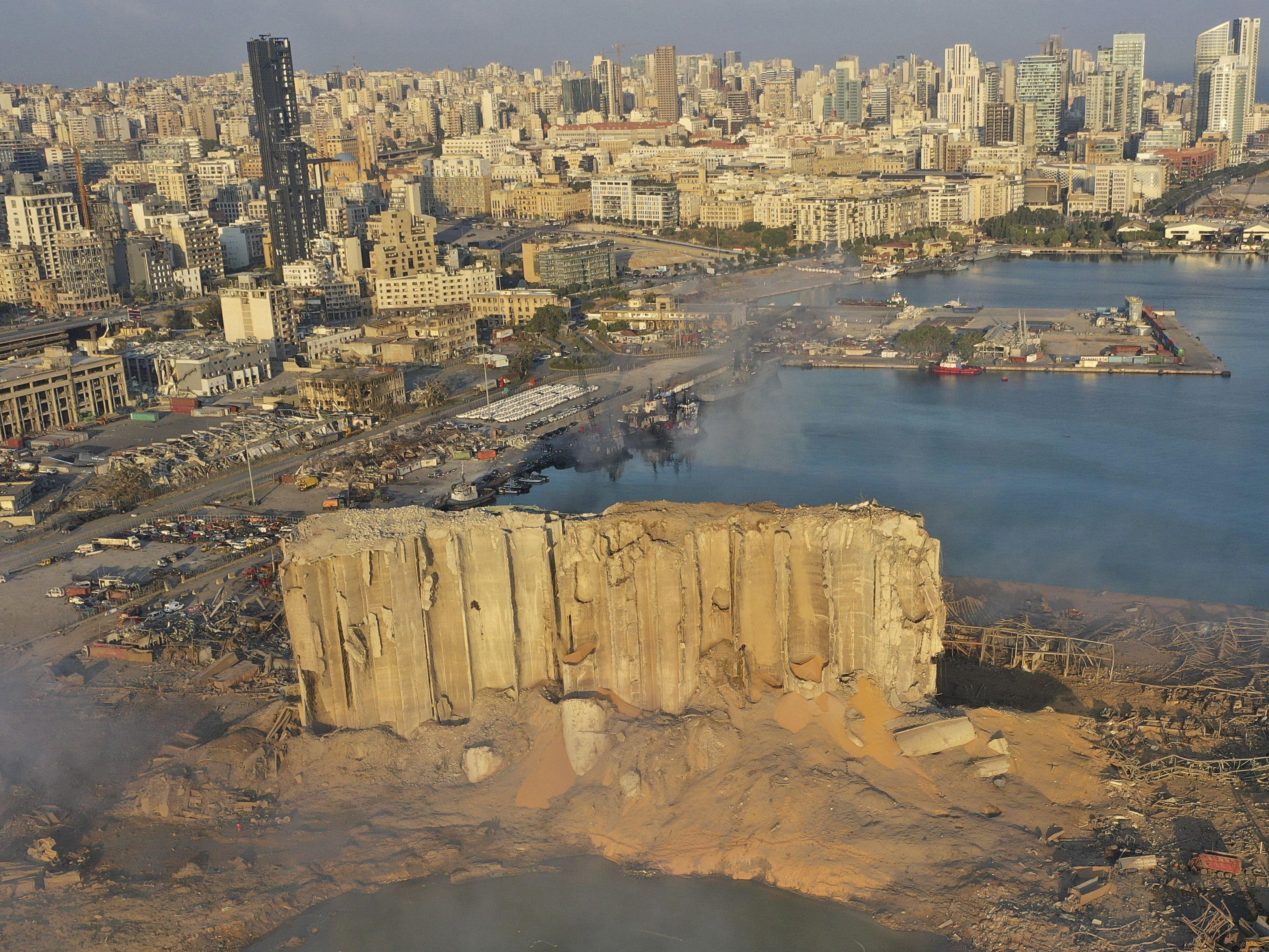 Lebanese confront devastation after massive Beirut explosion