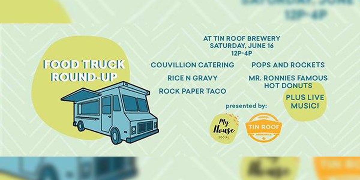 Tin Roof Brewing to host Food Truck Round-Up Party Saturday