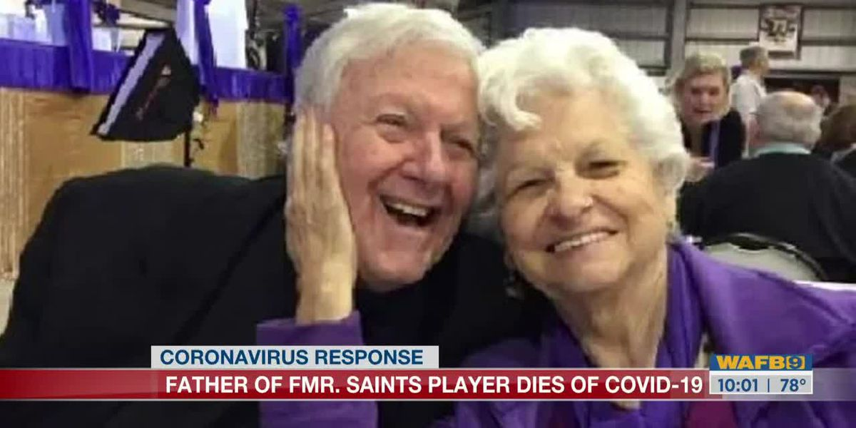 Former Saints player's father dies from COVID-19 complications