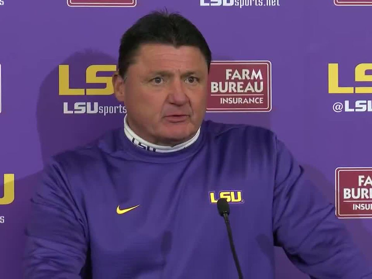 Coach O previews Fiesta Bowl against No. 8 UCF