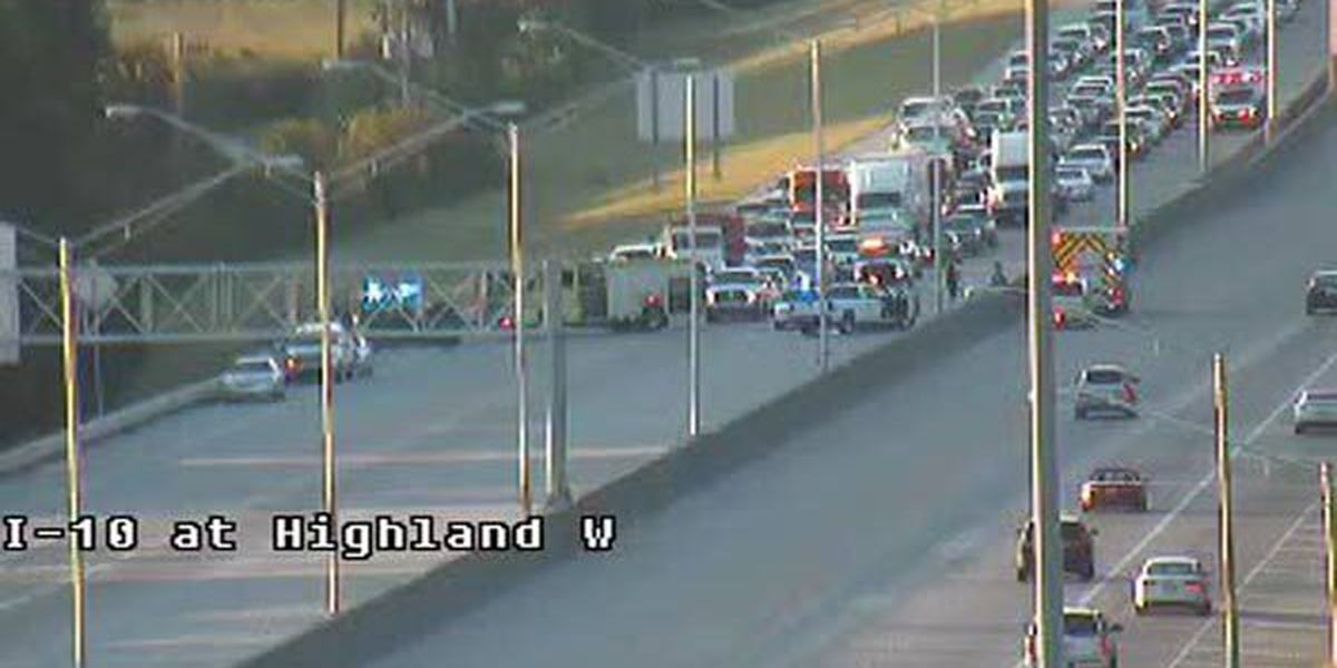 All lanes open at I-10 East at Highland