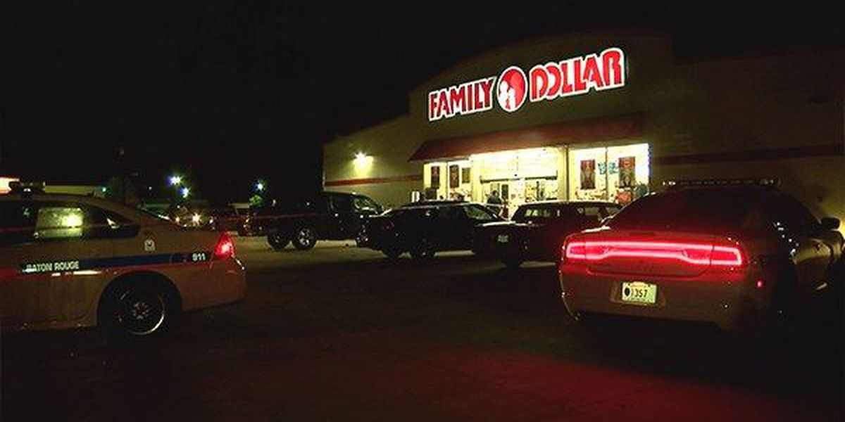 Baton Rouge Police investigates shooting at Family Dollar store