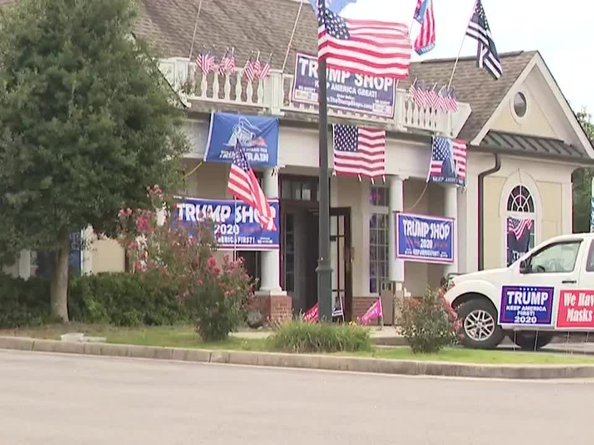 Trump store in Tenn. to become early voting location