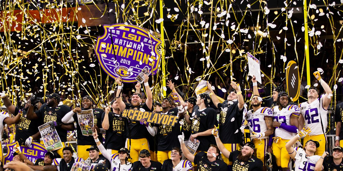 BRING BACK THE NOISE: LSU defeats Clemson to win CFP National Championship