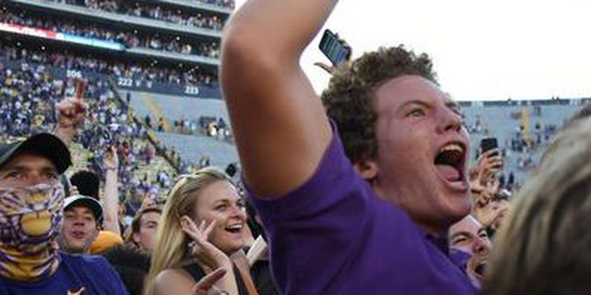 LSU fans gear up for big game against Bama