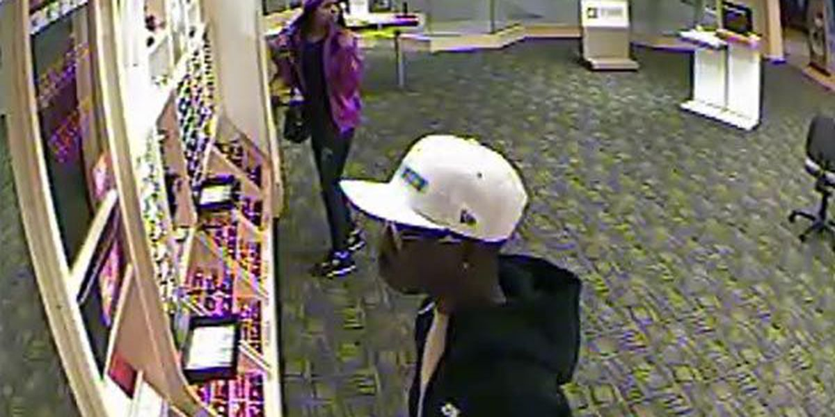 Police seek help identifying pair that took $1,800 worth of eyeglasses and sunglasses