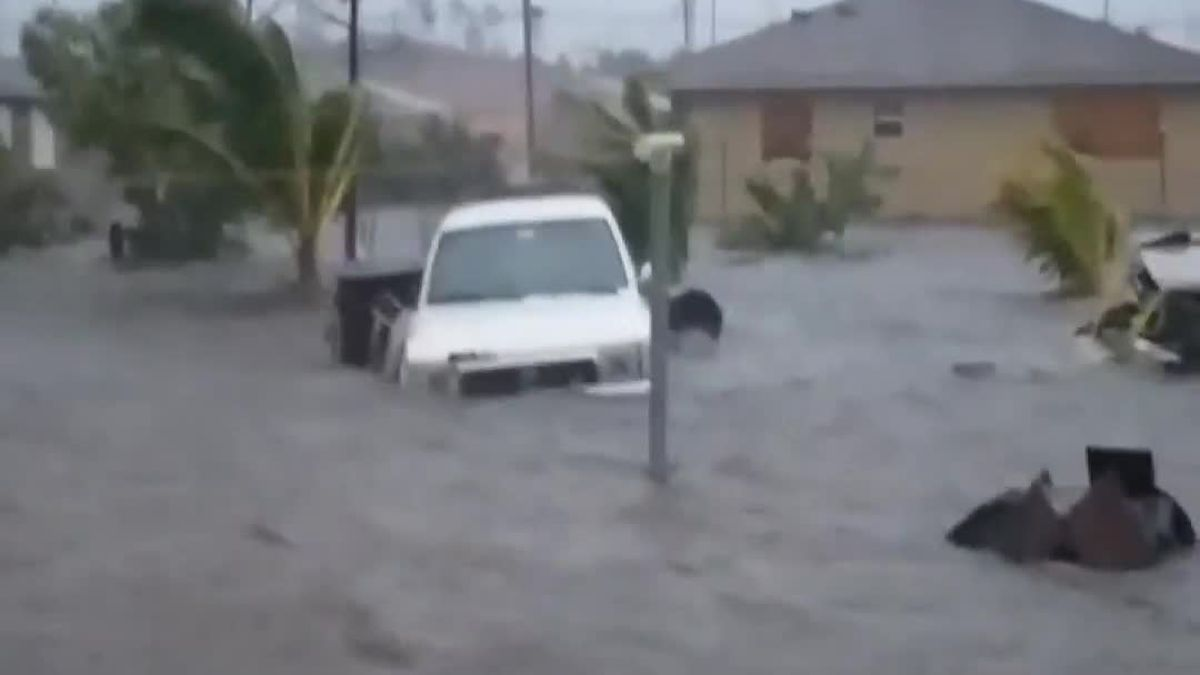 Dorian triggers massive flooding in Bahamas; at least 5 dead