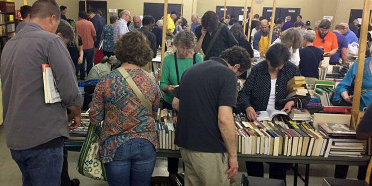 LSU's annual Book Bazaar offers 70K items