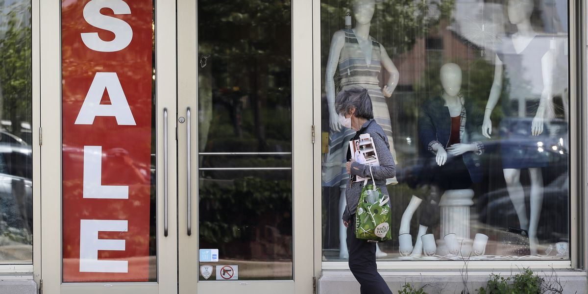 US shoppers returned with vigor in May in partial rebound