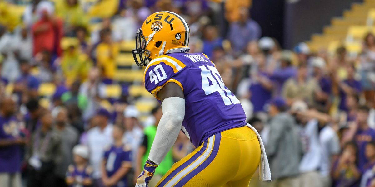 New Bucs linebacker Devin White expects support from LSU-Saints fans when playing the Black and Gold
