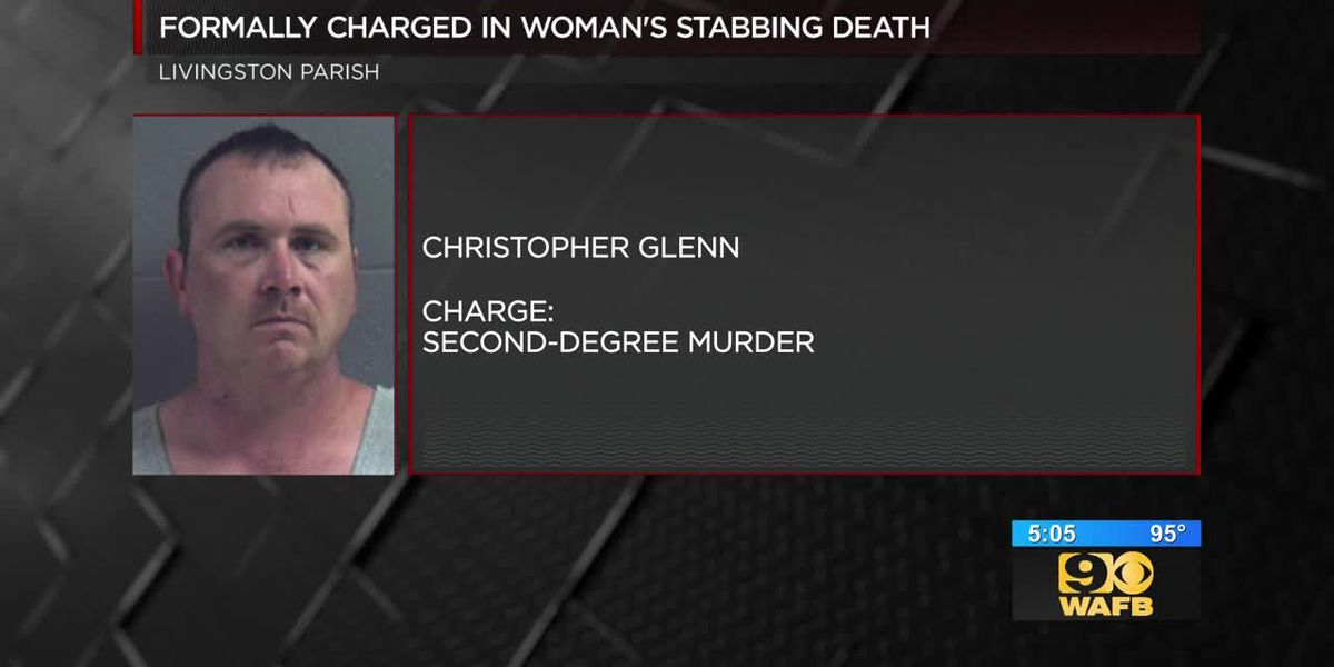 Man formally charged in woman's stabbing death