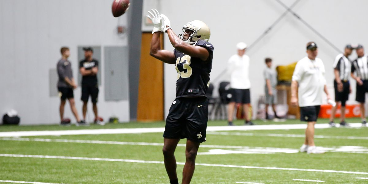 Michael Thomas and Sean Payton discuss receiver's camp debut
