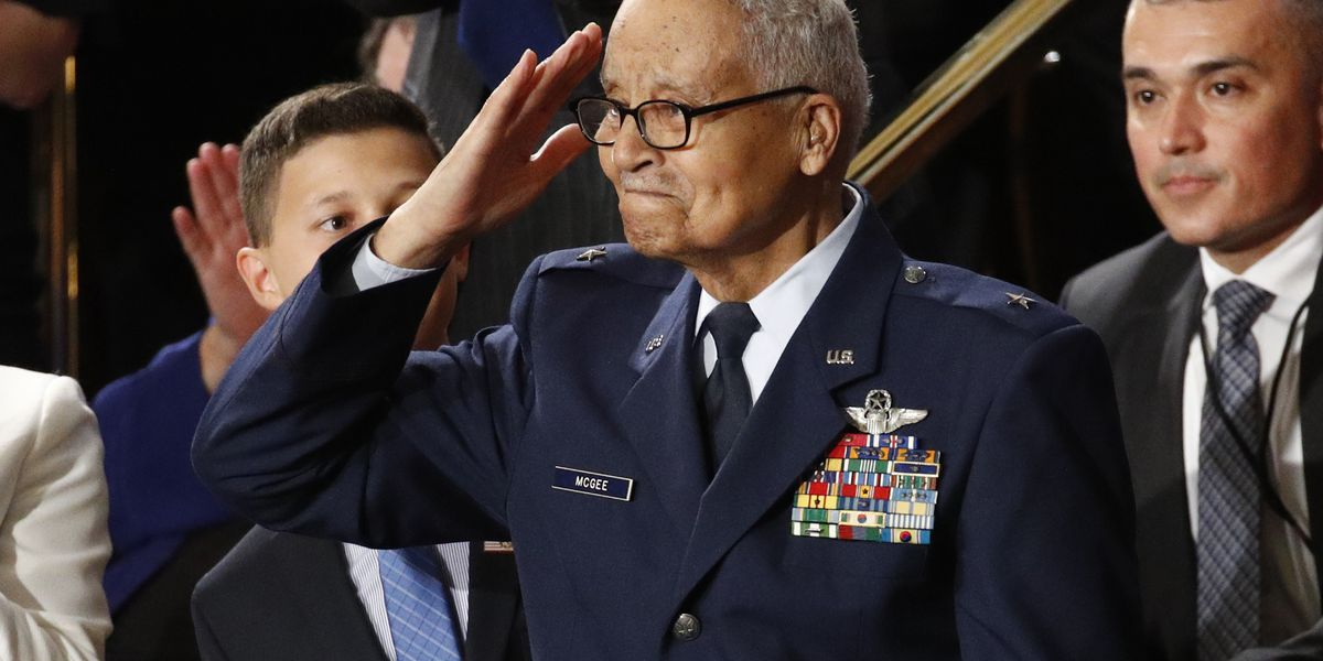 100-year-old Tuskegee Airman, Cleveland Native honored during State of the Union address by President Donald Trump