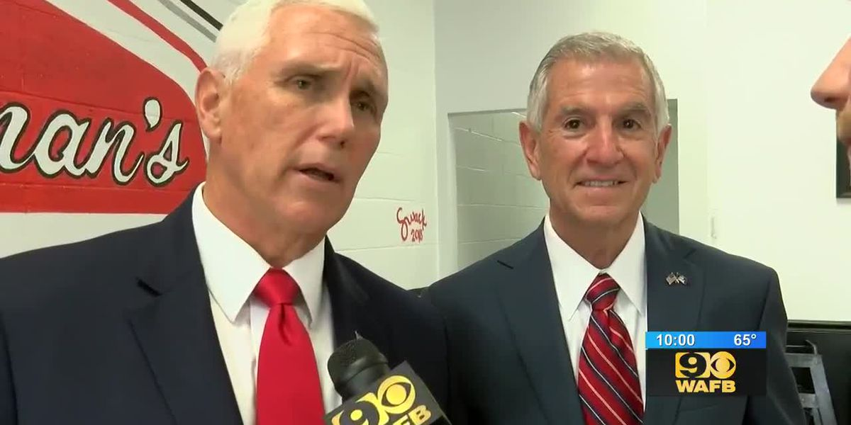 EXCLUSIVE: Vice President Pence stumps for Eddie Rispone in Baton Rouge