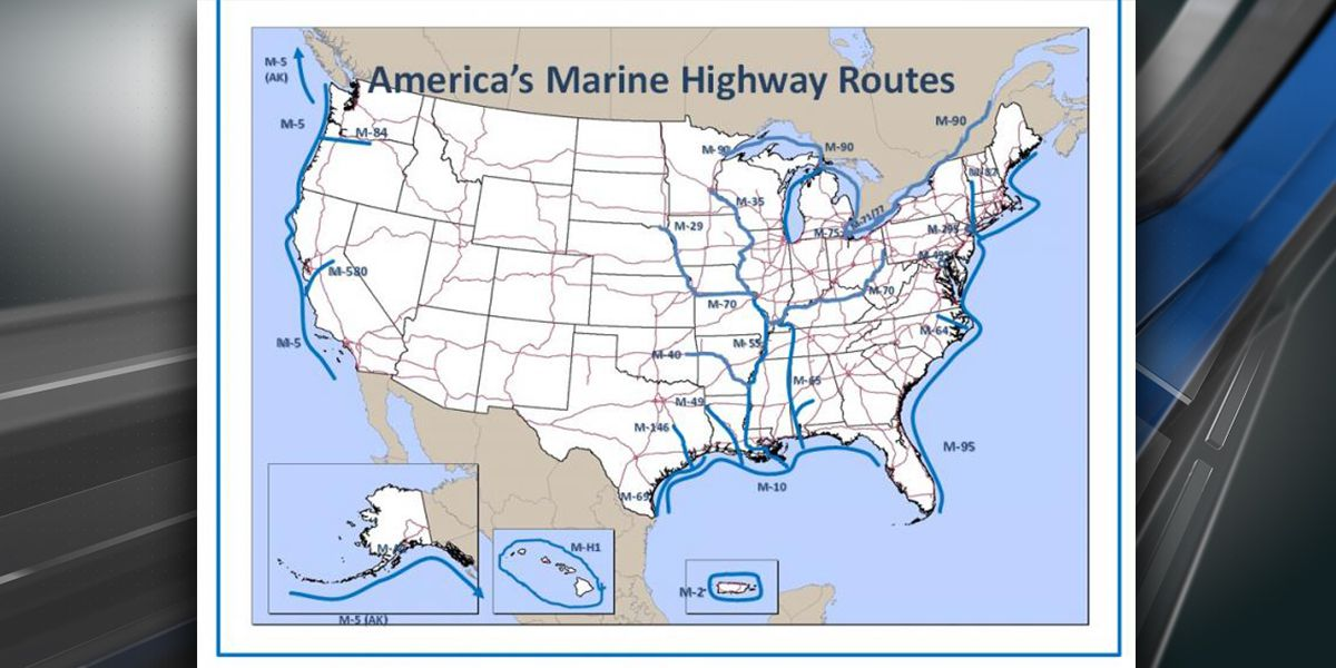 La. to receive federal grant money for marine highway projects