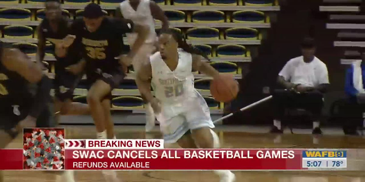 SWAC cancels remaining basketball tournament games
