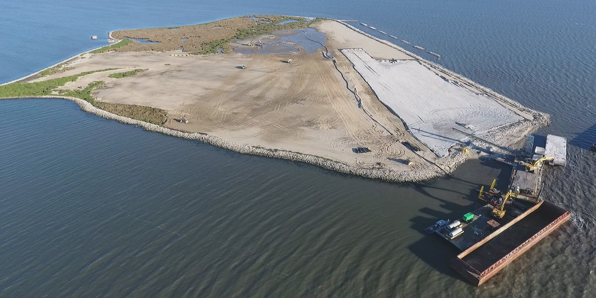 Louisiana expects to build more coastline in 2020 than it loses