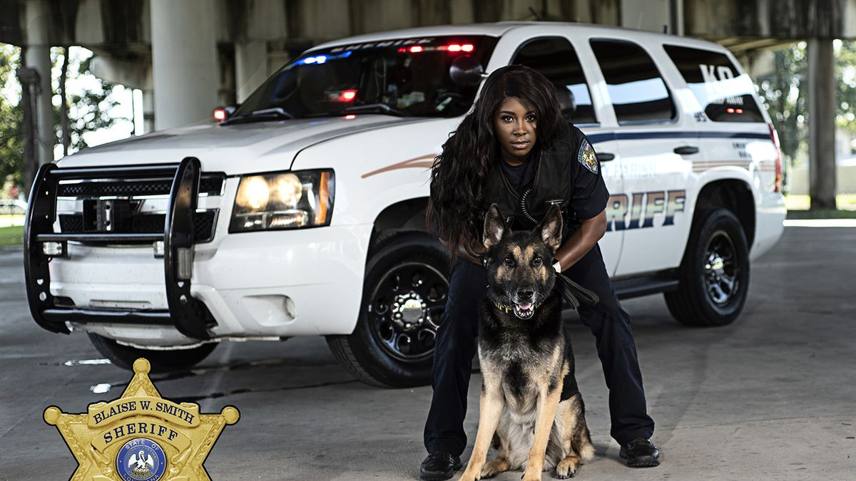 St. Mary Parish Sheriff's Office hires first female K9 handler