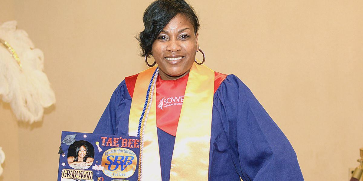 Lake Charles mom graduates with a degree in criminal justice, hopes to solve daughter's murder case