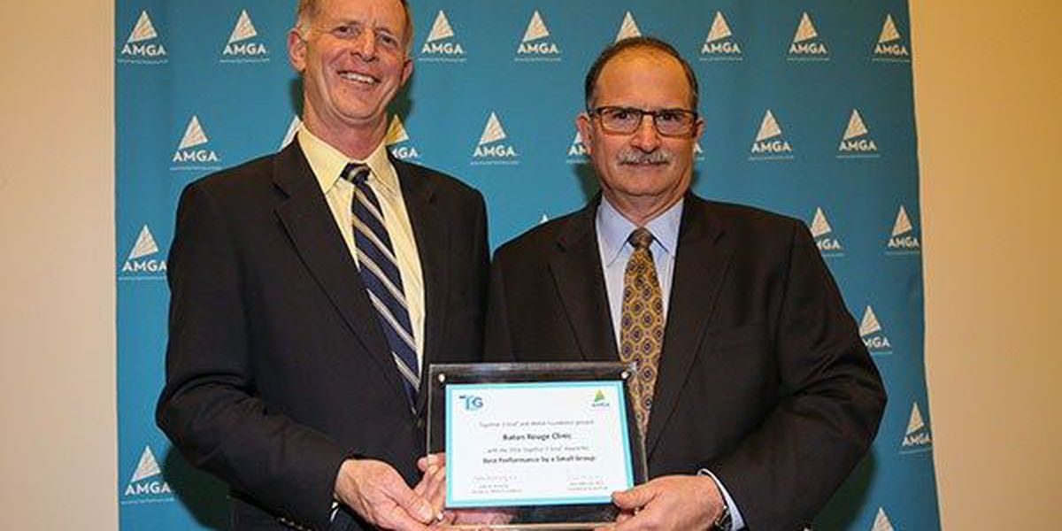 Baton Rouge Clinic, AMC awarded for diabetes care