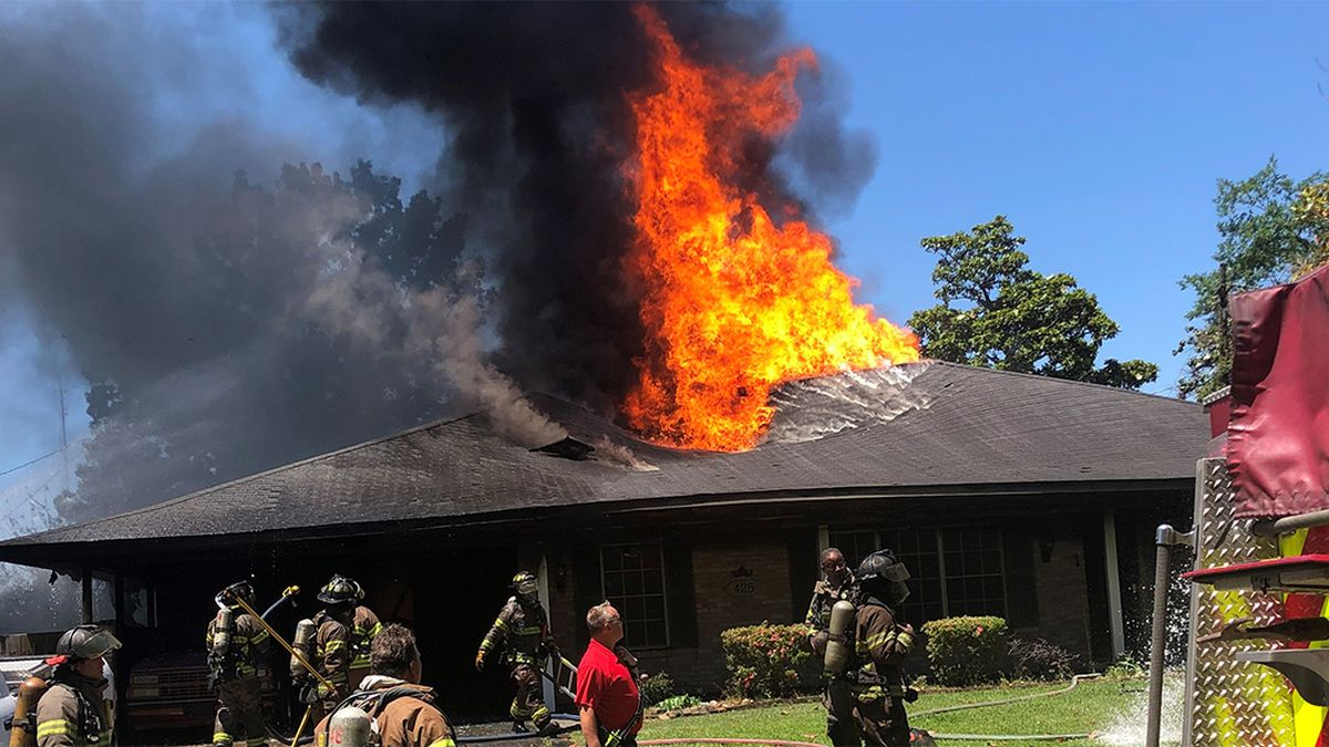 Fire officials investigating house fire on Landwood Dr