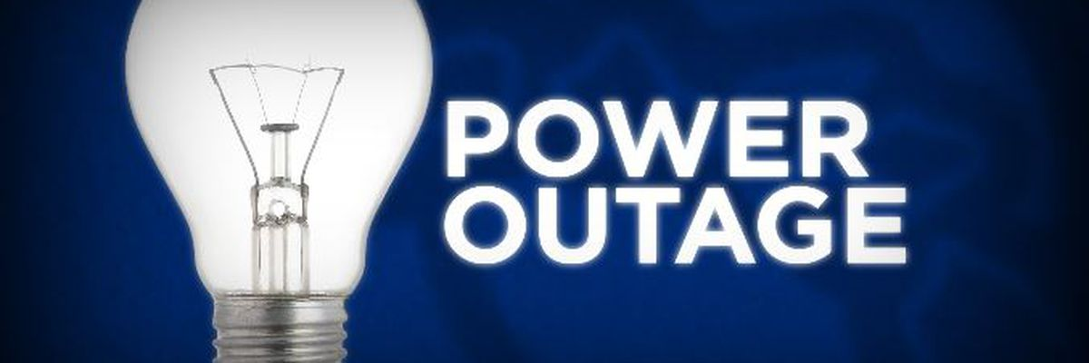 Power outages reported following overnight storms