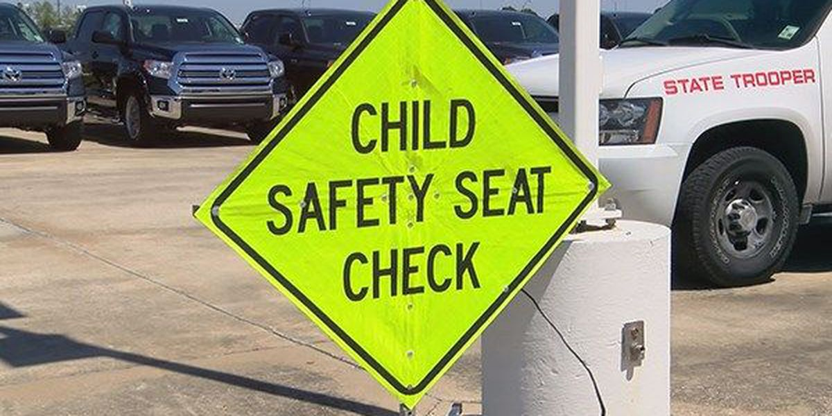 Free child car seat inspections available across Louisiana