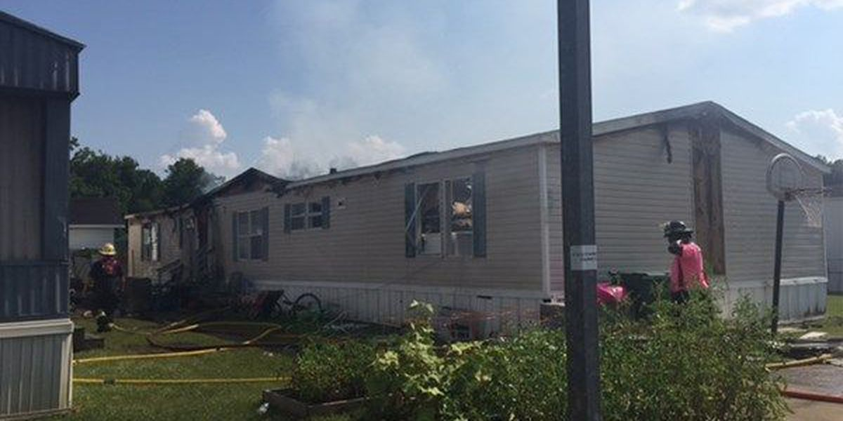 Officials investigating trailer fire in Livingston