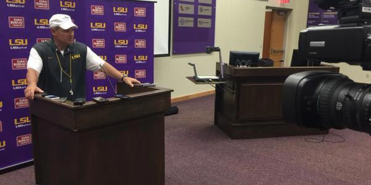 Miles not anointing Harris to LSU starter yet
