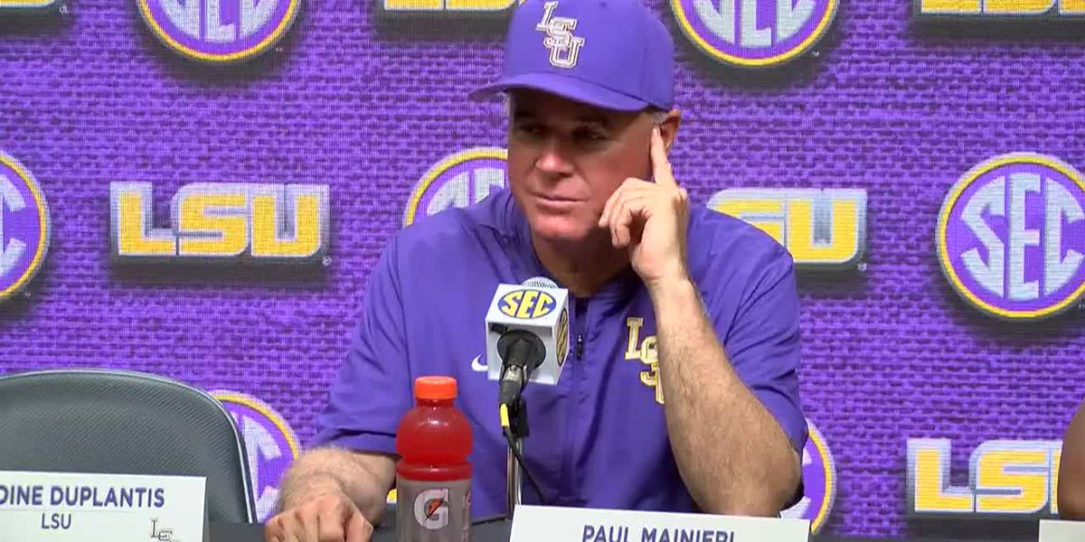 POST GAME: Paul Mainieri and LSU Baseball Players