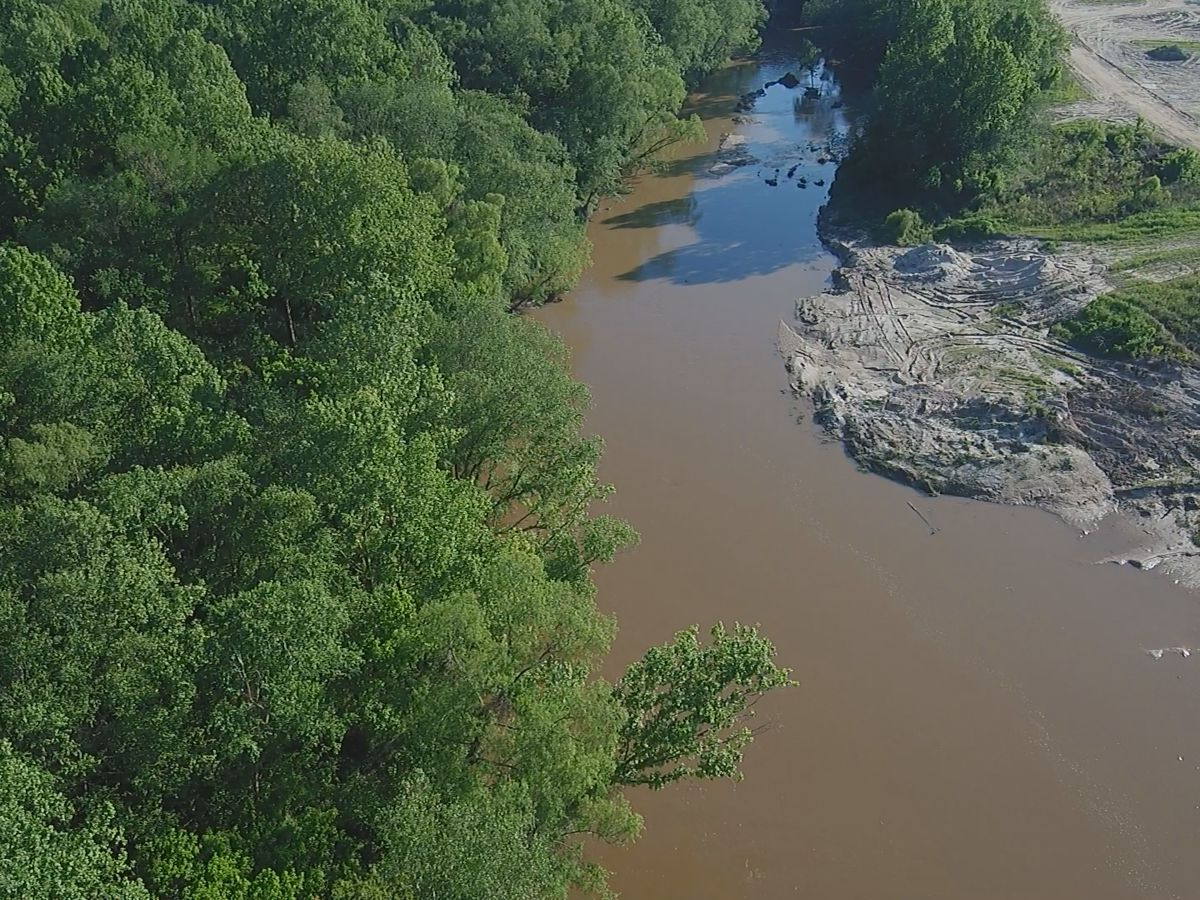 Lawmakers break ground on Comite diversion project