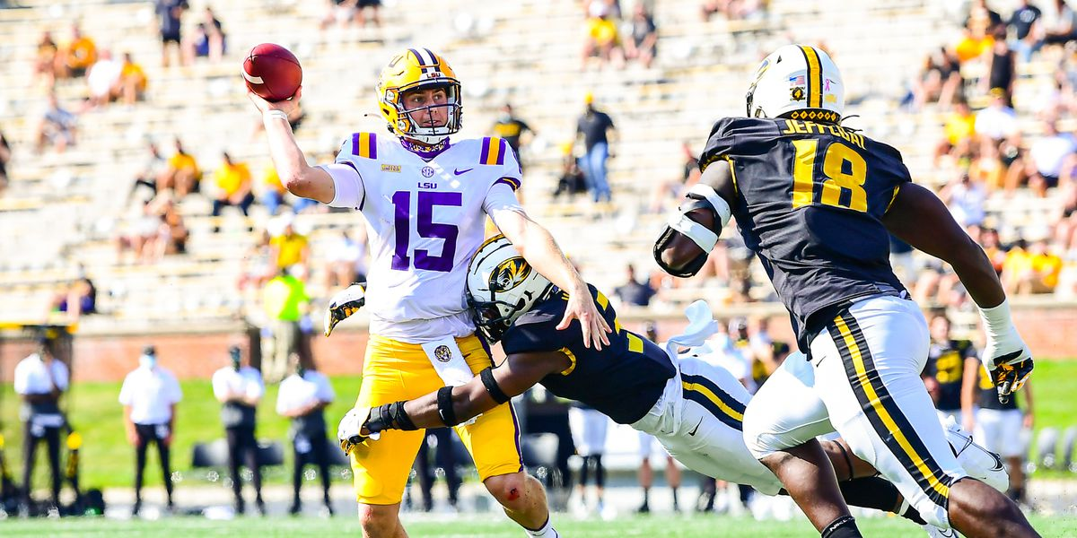 LSU QB Myles Brennan doubtful to play against Florida