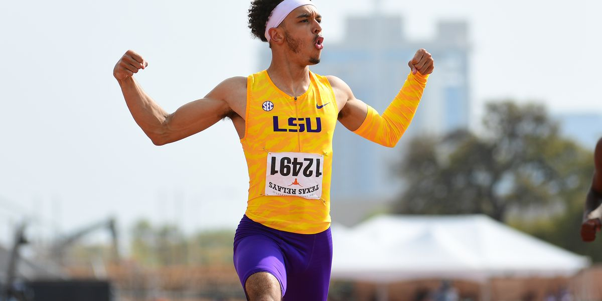 LSU captures six titles at Texas Relays over the weekend