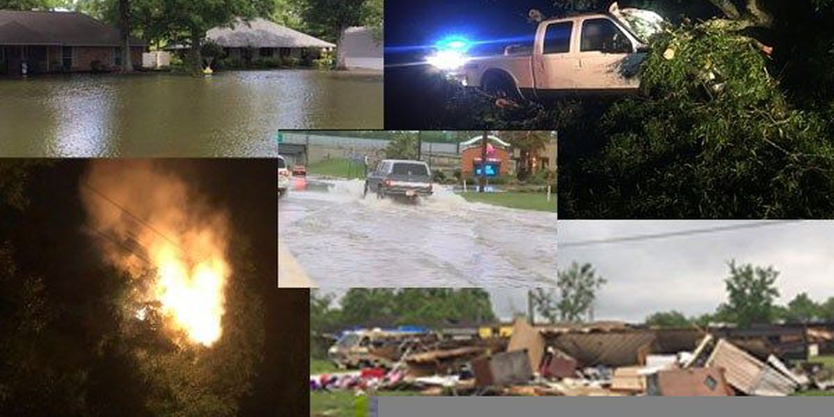 RELATED STORIES: Deaths, damage reported after severe storm sweeps across southern states