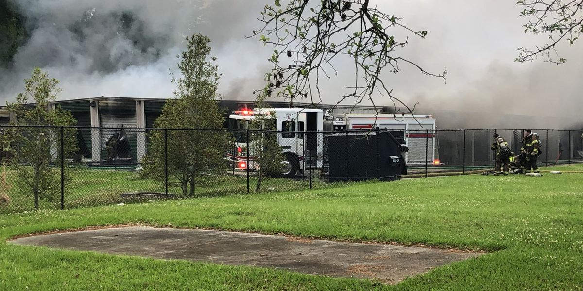 Storage facility destroyed by early morning fire