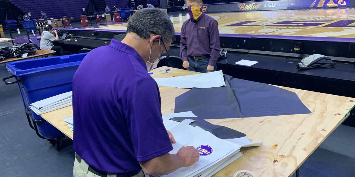 LSU's PPE operation PMAC creates 20,000 gowns in 30 days