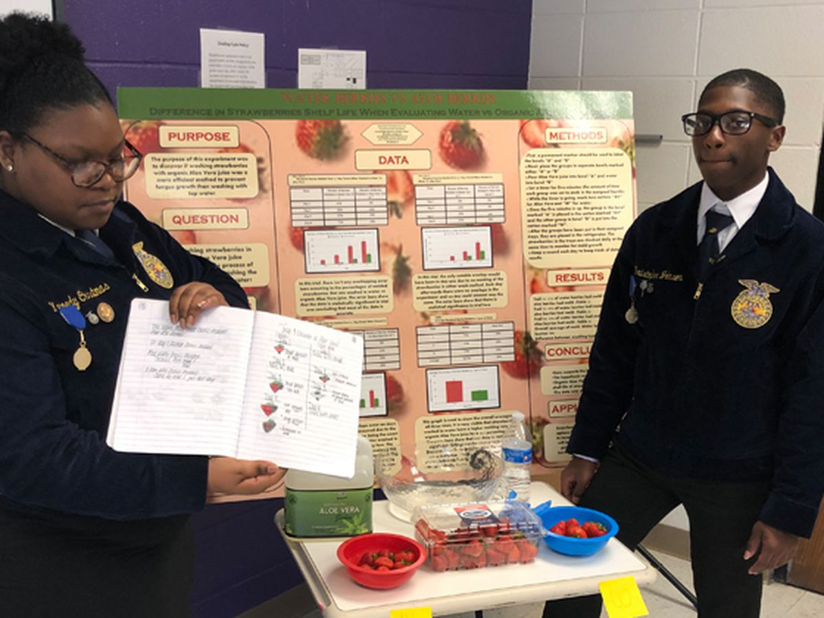 Iberville students become first from Louisiana to win national AgriScience convention